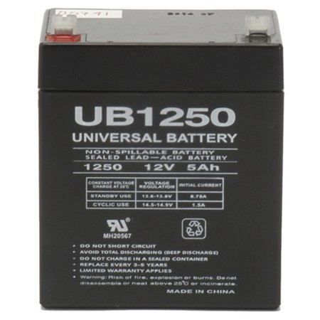 12V 5Ah UPS Battery for Topin 12V5AH/20HR](Ups Coupons For Shipping)