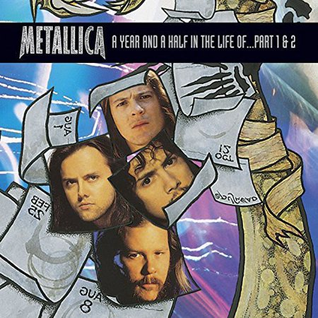 Year & a Half in the Life of Metallica Part 1 & 2 (Eternal Decision Two Thousand Years Of Metallica)