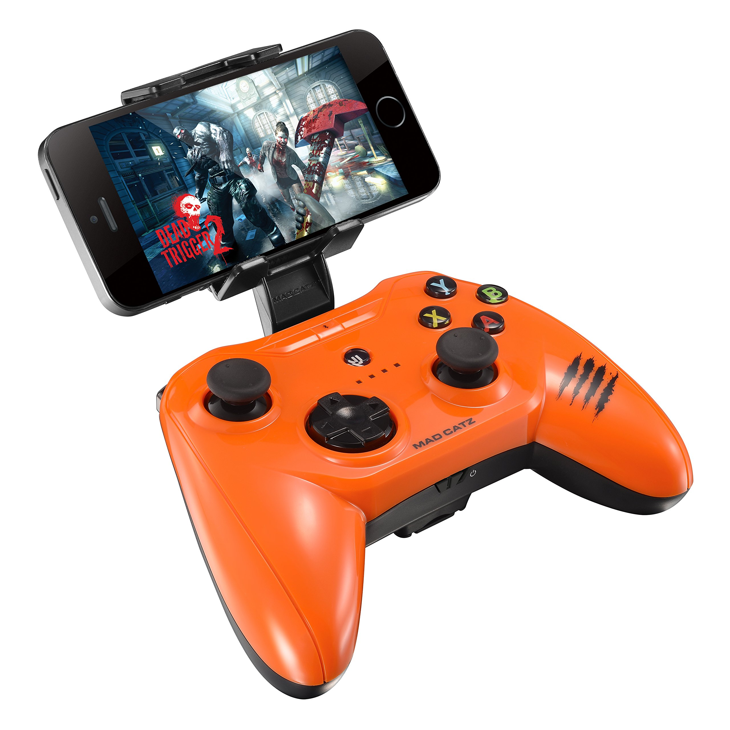 Saitek C.t.r.l.i Mobile Gamepad For Apple Ipod, Iphone, And Ipad - Wireless - Bluetoothiphone, Ipad, Ipad Mini, Ipad Air, Ipod, Ipod Touch (mcb312630a10-04-1)