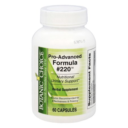 Botanic Choice - Pro-Advanced Formula #220 - 60 Capsules Day Womens Advanced Formula
