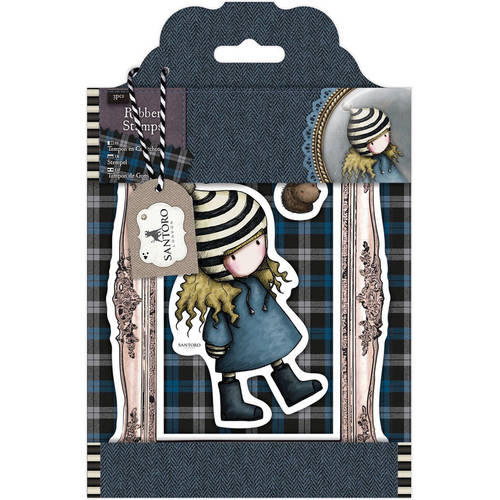 Santoro Gorjuss Tweed Rubber Stamps