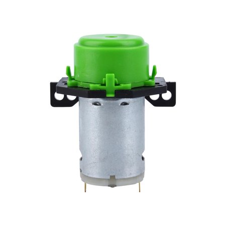Yosoo Peristaltic Liquid Pump,Dosing Pump 12V DC DIY Peristaltic Liquid Pump Hose Pump Dosing Head for Aquarium Lab Analytical Water (Green),Dosing Pump 12V DC DIY Peristaltic Liquid Pump (Best Reef Dosing Pump)