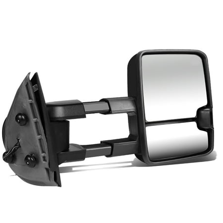 For 1988 to 2002 Chevy GMC C / K Powered+Smoked LED Turn Signal Tow Towing Mirror (Right / Passenger)