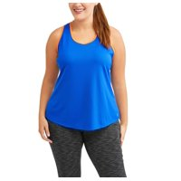 57ef5b9e722 Product Image Women s Plus Mesh Tank with Pop of Color