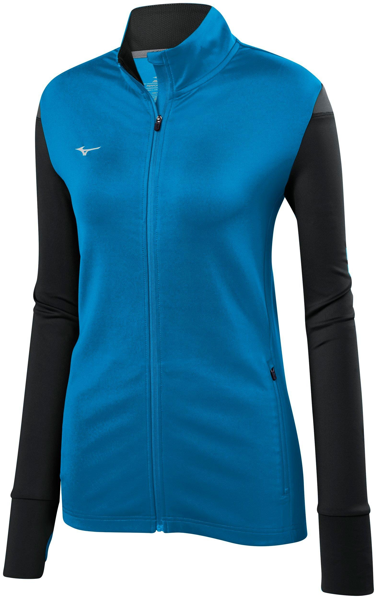 Mizuno Womens Volleyball Apparel Youth Horizon Full Zip Volleyball Jacket 440665 by Mizuno