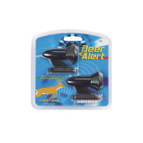2 each: Custom Accessories Deer Alert Warning Whistles (17380) Multi-Colored