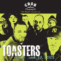 The Toasters - CBGB OMFUG Masters: Live June 28 2002 Bowery - Vinyl The Toasters are the godfathers of American Ska and 2Tone. Hundreds of concerts have honed the Toasters into one of the best live acts on the planet. This limited edition LP was recorded in 2001. A pristine recording and a set list of Toasters classics in front of a sold out crew of fans ups the ante. Includes download card. Limited edition of 500 on black vinyl.