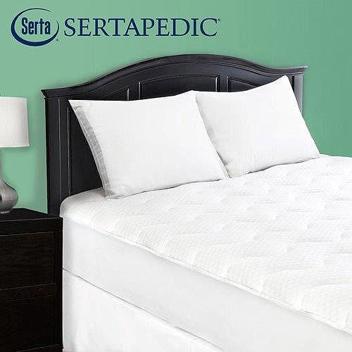 Sertapedic Comfort Knit Mattress Pad Walmart Com