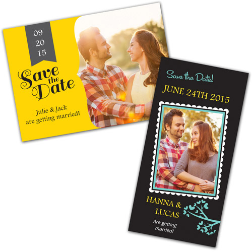 Wedding Save The Date Photo Greeting Cards