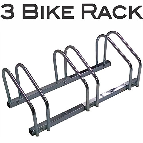 EasyGoProducts  Bike Rack Floor Bicycle Parking Stand for...