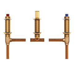 "Moen 4792 Two handle roman tub valve adjustable 1/2"" CC connection"