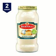 (2 Pack) Bertolli® Alfredo with Aged Parmesan Cheese Sauce, 15 oz.