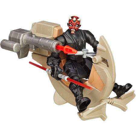 Star Wars Hero Mashers Sith Speeder and Darth - Darth Maul Devil