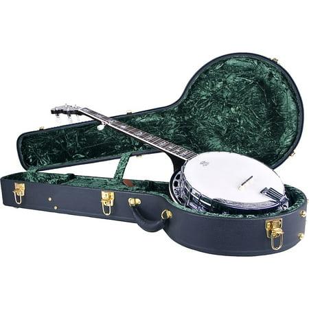 Gibson Vintage Banjo (Silver Creek Vintage Archtop Case for Banjo)