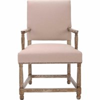 Safavieh Faxon Nautical Classic Arm Chair with Footrest