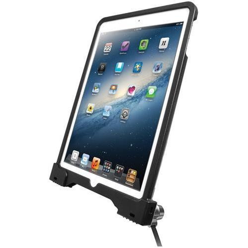 CTA Digital Anti-Theft Security Case for iPad Air and iPad Air 2 PAD-ASC