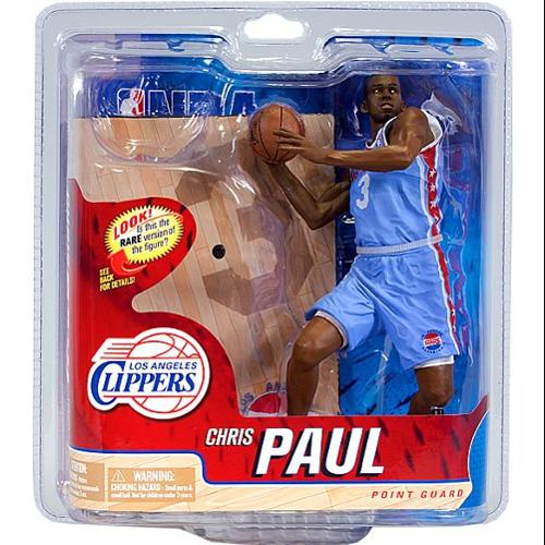 Chris Paul Action Figure Powder Blue Jersey Sports Picks Series 21 NBA