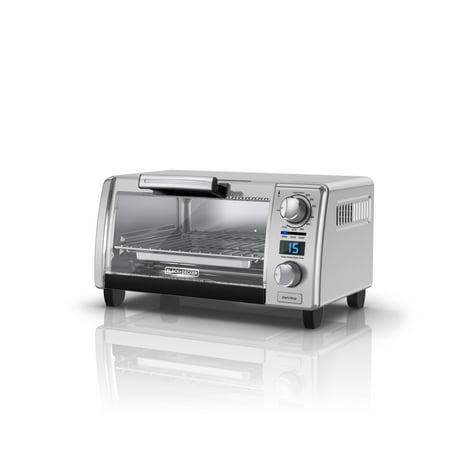 Black Decker 4 Slice Natural Convection Digital Toaster