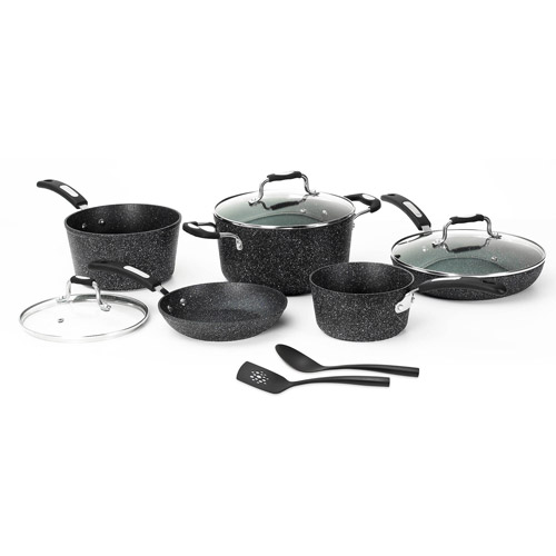THE ROCK by Starfrit 10-Piece Set, Grey
