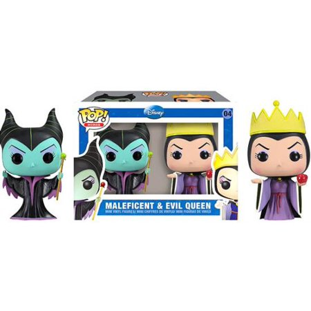 Funko Pop Disney Maleficent Evil Queen Mini Figure 2 Pack