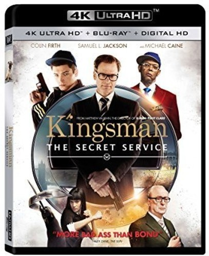 Kingsman: The Secret Service (4K Ultra HD + Blu-ray + Digital HD)