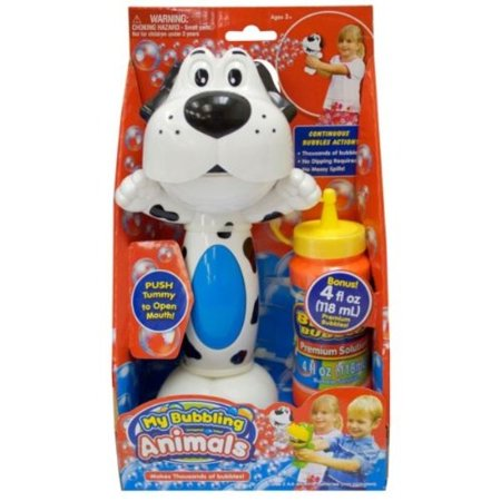 Animal Bubbles (Placo Toys My Bubbling Animals with FREE 4 fl. oz. Premium Bubble Solution (Styles May)