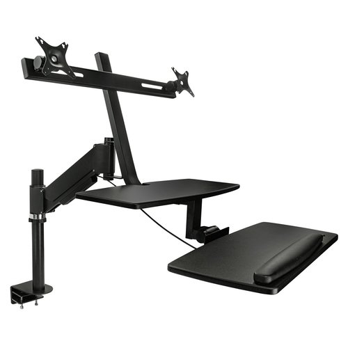 Mountit SitStand 30H x 16W Standing Desk Conversion Unit