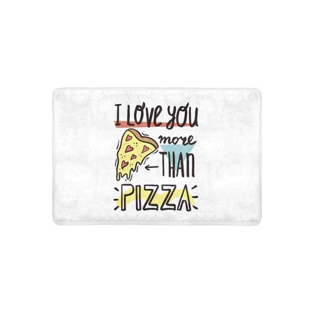 MKHERT I Love You More Than Pizza Funny Valentine\'s Day ...