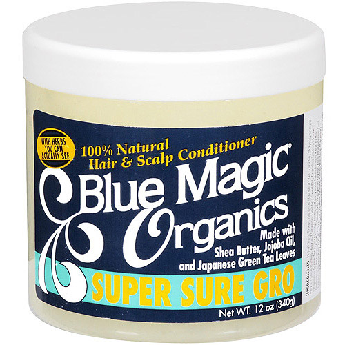 Blue Magic Organics Super Sure Gro Conditioner, 12 oz
