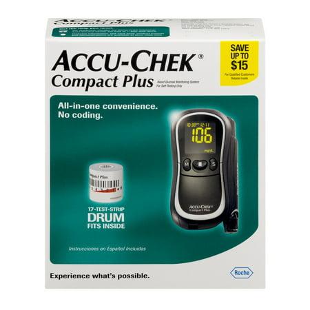 Accu Chek Compact Plus Blood Glucose Monitoring System 1