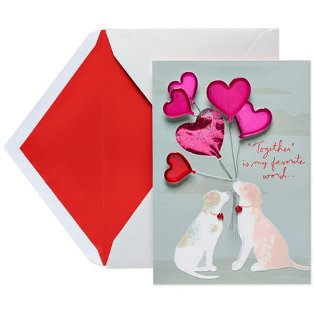 american greetings dogs valentines day card for wife - Dog Valentines Day Cards