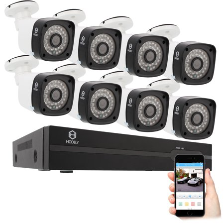 Wireless Surveillance System Night Owl, 8CH 1080P POE Wireless NVR Security Camera System with 4Pcs 720P 1.0MP WiFi Indoor/Outdoor IP waterproof CCTV Cameras, 65FT Night Vision,