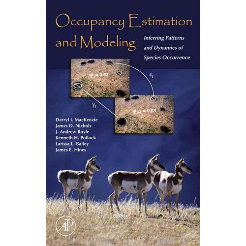 Occupancy Estimation And Modeling: Inferring Patterns And Dynamics of Species Occurrence