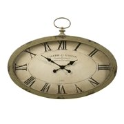 Sophie Oval Wall Clock