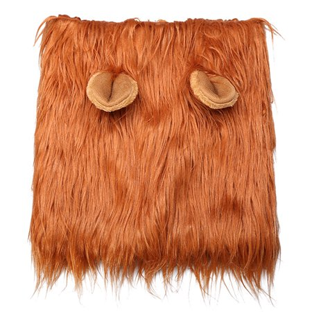 Docamor Lion Mane for Dog Halloween Dog Costume Hilarious Realistic & Funny Looking Hoods With Ears Lion Wig for Medium Large Dogs - Hilarious Costumes