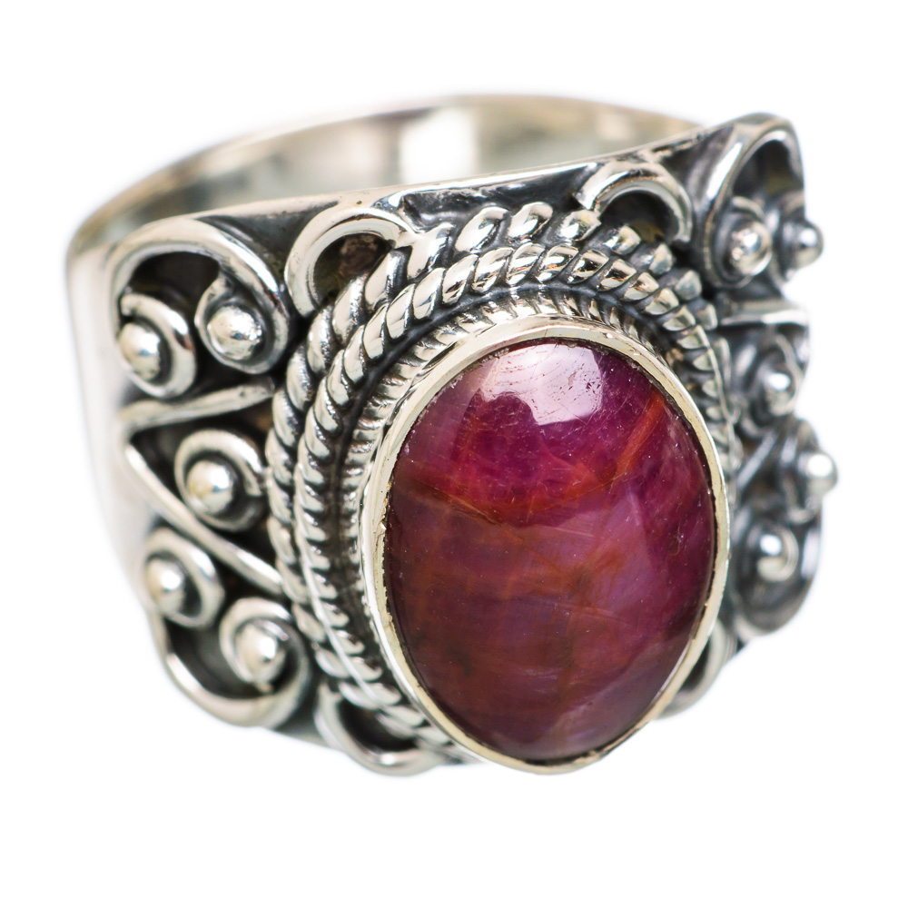 Ana Silver Co Star Ruby 925 Sterling Silver Ring Size 6.75 RING847760