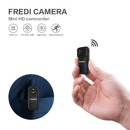 Hidden Camera, FREDI 1080P HD Wifi Spy Mini Portable Ip Indoor ...
