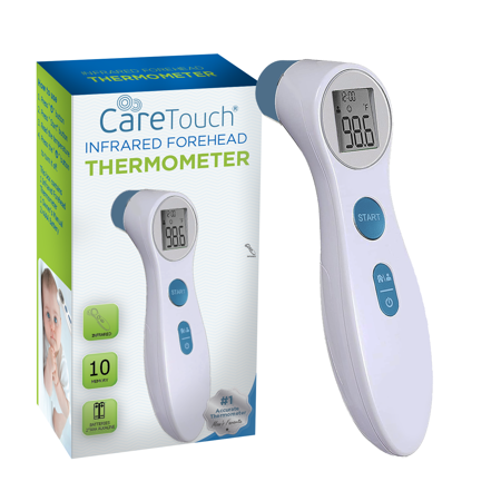Care Touch  Infrared Forehead Thermometer for Baby and Adult, Quick Read with Fever Alarm Infrared Radiation Thermometer