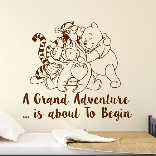 Decal House Classic Winnie the Pooh Nursery Bedroom Wall Decal