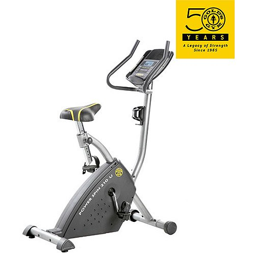 Golds Gym Power 210 Upright Bike Walmart