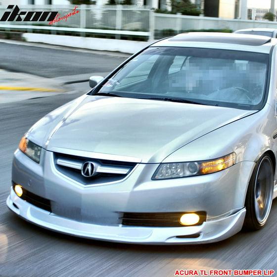 Fits Acura TL Sedan Dr Mugen Urethane Front Bumper Lip - Acura tl front lip