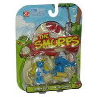 The Smurfs Smurfette & Poet Smurf Jakks Pacific Toy Figure 2-Pack Set
