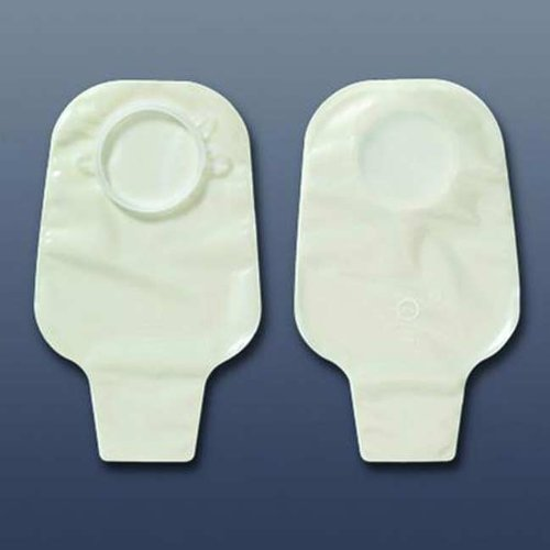 Hollister Colostomy Pouch Center Point Lock  2-Piece 2-3/4'', Transparent - Box of 10