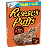 Reese's Puffs Cereal, Peanut Butter, 20.7 oz