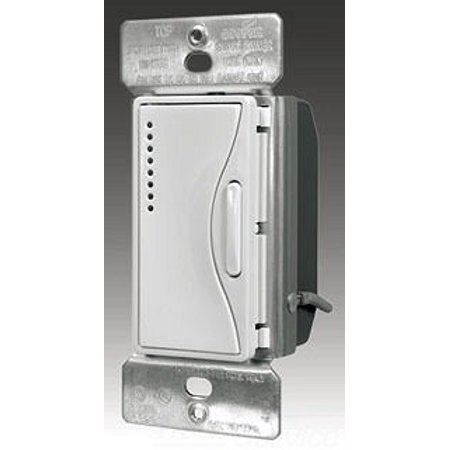 Cooper Wiring Devices RF9542-ZSG Aspire RF Accessory Smart Dimmer with LED's, Silver Granite Cooper Aspire Dimmers