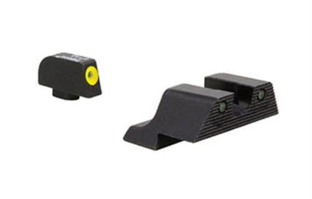 Trijicon HD XR Night Sight Set Yellow Front for Glock 42 and 43 by Trijicon