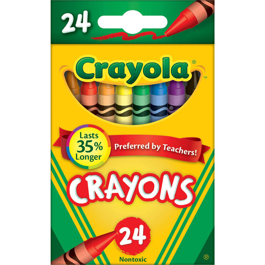 Crayola Classic Color Pack Box of Crayons, 24-Colors