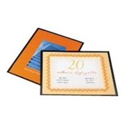 GBC HeatSeal UltraClear - 25-pack - clear glossy - lamination pouches
