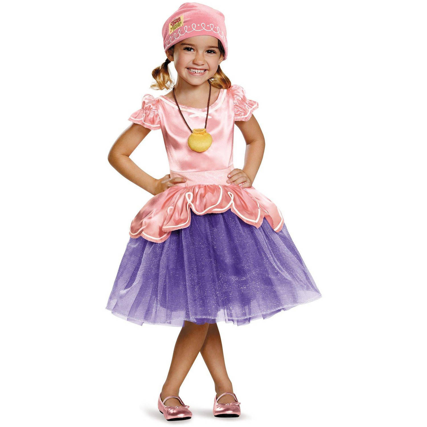 Captain Jake and the Never Land Pirates Izzy Deluxe Tutu Toddler Halloween Costume, 3T-4T
