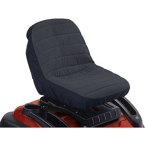 "Classic Accessories Deluxe Tractor Seat Cover, Medium, fits backrests up to 15""H"